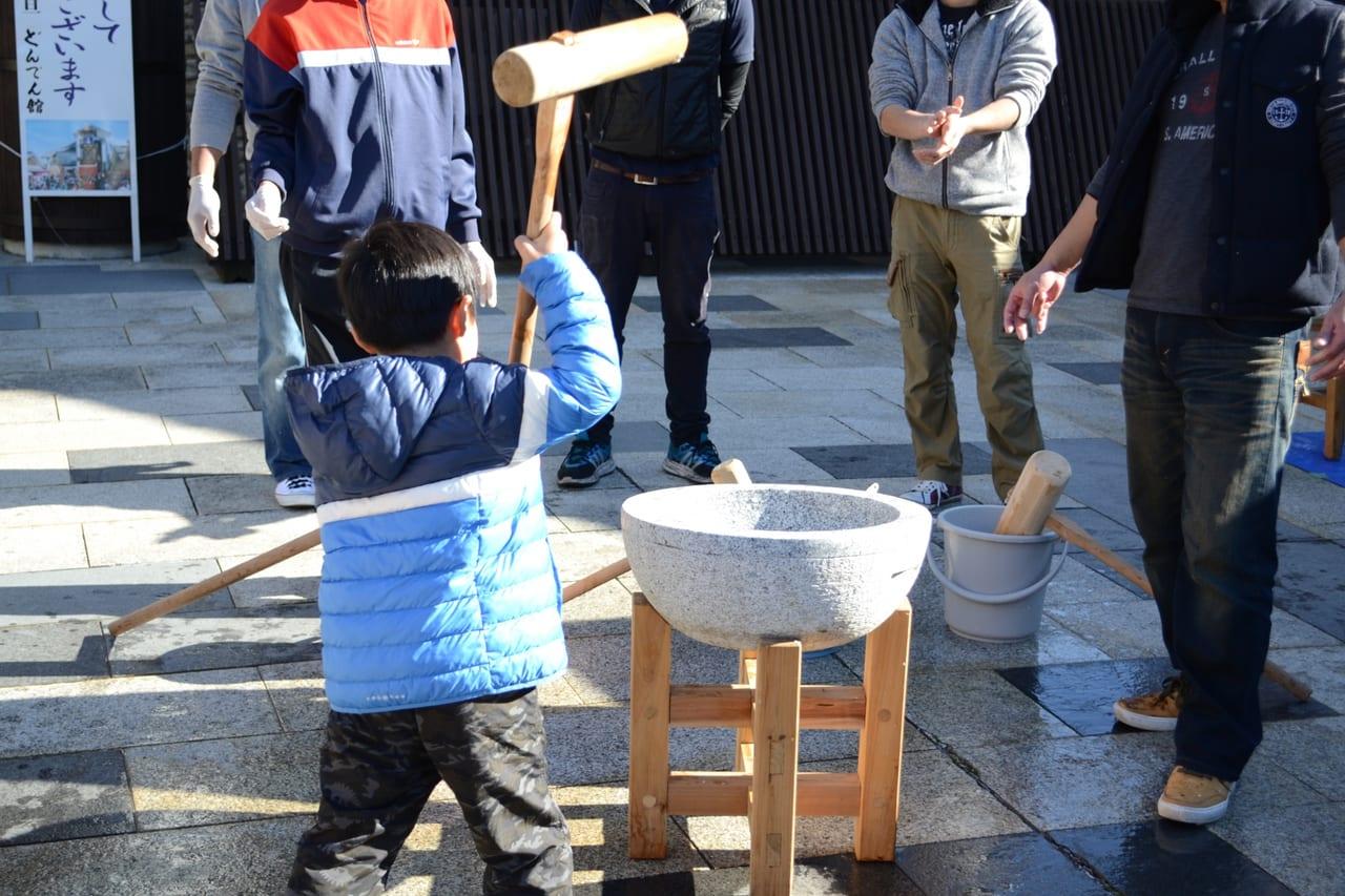 新春餅つき大会in2020 ホンダショップライフ小倉南店
