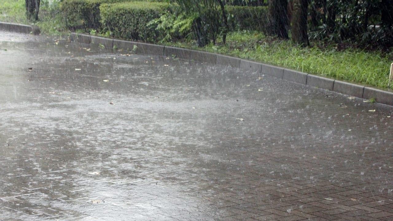北九州市雨